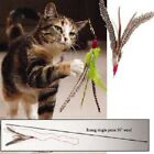 Go Cat Da Bird Feather Wand Teaser Cat Toy Single Rod or 2 piece Rod Made in USA