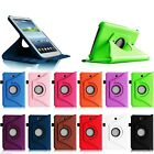 Smart 360 rotation case cover for samsung tab 3 p5200 10.1 t310 8 t210 7 inch