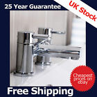 Modern Traditional Basin, Bath & Shower Mixer Taps Range in Chrome Thermostatic