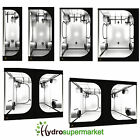 NEW INDOOR GROW TENT BY SECRET JARDIN SILVER DR VERSION MYLAR LINED HYDROPONICS