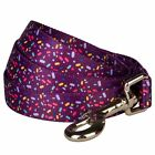 Blueberry Pet Dogs Lead Candy Crush Inspired Easter Jelly Bean Orchid Dog Leash