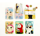 HIMORI choo choo one card pocket - Simple ID Card Case / Metro Card Holder Pocke
