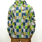 Quiksilver Men's Mission Printed 10K Dry Flight Ins. Snow Jacket - AW14: Check