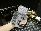 """Hand-made High Quality Bling Diamond Rabbit Fur iPhone 6 Case 4.7"""" Inch"""