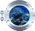 Ocean Tropical Fish porthole trailer motor home rv mural graphic