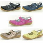 Ladies Down To Earth F3100 Leather Casual Velcro Shoes