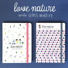 2015 New Weekly Planner-Undated Journal Diary Organizer-Cute Girl's Mind V.7