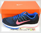 Nike Air Zoom Structure 18 Black Blue Pink Hyper Cobalt Punch 683731-400 Running