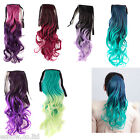 Fashion 6Colors Curly Hair Ponytail Synthetic Hair Extensions Hairpiece 65cm Hot