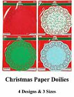 "Paper Doilies Round - Sizes 6/12"" 8 1/2"" 10 1/2 for Baking NEW"