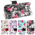 Retro Floral Faux Leather Wallet Case Cover For Samsung Galaxy Grand Neo i9060
