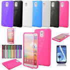 Colorful Flip TPU Glossy Wrap Up Phone Case Cover For Samsung Galaxy NOTE 3