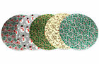 10'' (254mm) Christmas Assorted Double Thick (3mm) Round Cake Card / Base /Stand