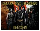 Batman Icing Birthday Edible Image Cake Topper Personalized Frosting Sheet