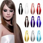 Womens Long Straight Cosplay Party Costume Halloween Full Hair Wig Wigs 80cm