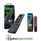 EC AND PH ESSENTIALS METER FOR TESTING NUTRIENT STRENGTH HYDROPONICS