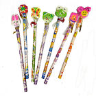 NOVELTY ANIMAL KIDS  XMAS PENCILS & ERASER PARTY STOCKING BAGS FILLERS GIFTS