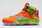 Nike Lebron 12 XII Six Meridians Meridian Orange 684593-870 King James MVP Cavs