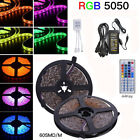 5M/10M/15M/20M 3528 60LEDs/m Flexible LED Strip Lights Roll Rope Tape RGB
