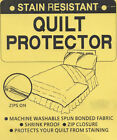 STAIN RESISTANT Quilt Duvet Doona PROTECTOR SINGLE DOUBLE QUEEN KING