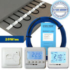 Underfloor Heating Cable Kit with Thermostat For Under Tile Floor Heating