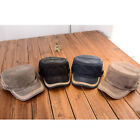 Style Faded Black Army Military Cadet Cotton Men Women Flat Cap Hat