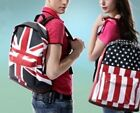 Fashion Flag Style Travel Casual Backpack School Shoulder Book Laptop Bag