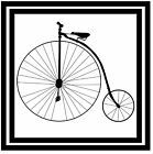 PENNY FARTHING - SET OF NOVELTY FUN COASTERS - SETS OF 4, 6 OR 8 - GIFT