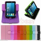 Rotary Leather Case Cover For 7 RCA Voyager RCT6773W22 Android Tablet WN3