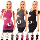 LOVE - Cotton Printed Maternity Pregnancy Top Tshirt Tee 2010