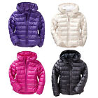 NWT Old Navy Girl Frost Free Warm Winter Puffer Jacket Cozy Water Resistant Coat