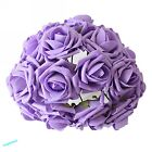 Valentine 3 6 cm 12-48 Head Latex Artificial Rose Flower For Diy Bouquets Bridal