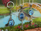 MARY POPPINS CHARM NECKLACE PENDANT OR KEYRING UMBRELLA SPOON