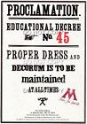 Harry Potter Proclamations Posters 18 to pick from - Replica Gift Hogwarts