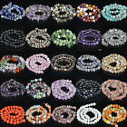 Wholesale Natural Gemstone 6mm-13mm Freeform Rondelle Nugget Spacer Beads 7.5""