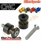 CNC Light Weight Swingarm Spools Sliders M6 for Yamaha YZF R6 99-14