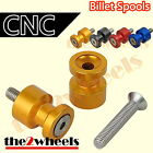 CNC Light Weight Swingarm Spools Sliders M8 for Benelli Tornado 03+