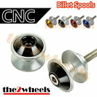 CNC Guia Craft Swingarm Spools Sliders M8 for Kawasaki Z800 13+