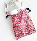 HIMORI Liberty Pocket Pouch_Liberty Art Fabric Accessory Pouch Drawstring Bag