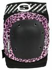 Smith Scabs Safety Gear - PINK LEOPARD - Elite Knee Pads - derby or skateboard