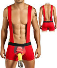 Candyman Mens Heavy Hose Fireman Costumes For Men