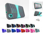 for HTC Desire 816 | Exo Dual Layer Kickstand Phone Case Cover+Prytool