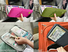 UK Travel Bag Wallet Purse Document Organiser Zipped Passport Tickets ID Holder