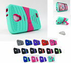 for LG Access L31G LTE & F70 | Exo Dual Layer Kickstand Phone Case Cover+Prytool