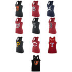 MLB Womens Cotton Racerback Tank Top