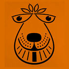 SPACE HOPPER FACE - QUALITY WOODEN COASTER