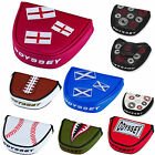 ODYSSEY PUTTER COVER ** NEW 2016 RANGE ** ODYSSEY MALLET PUTTER HEADCOVER GOLF