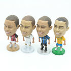 6.5 cm High Real Madrid Ronaldo AC Milan Inter Milan Brazil Action Figure Doll
