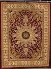 2001 Burgundy Beige Black Oriental Area Rug Carpet Persian Design New rugs