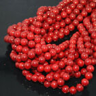 "Wholesale Natural Coral Gemstone Round Spacer Beads 16"" 2,3,4,5,6,7,8mm"